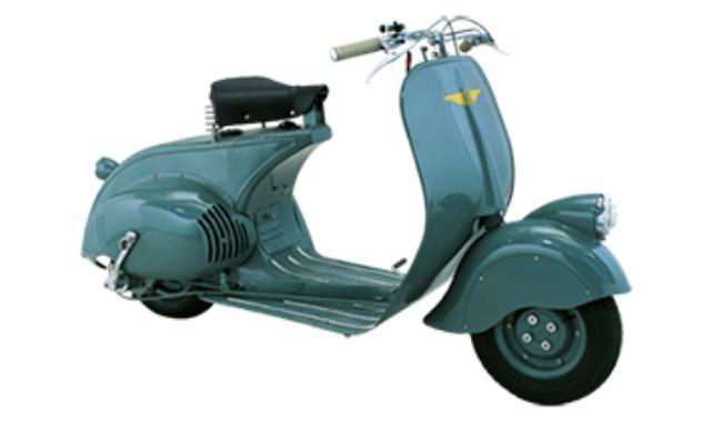 Motor Vespa Lama